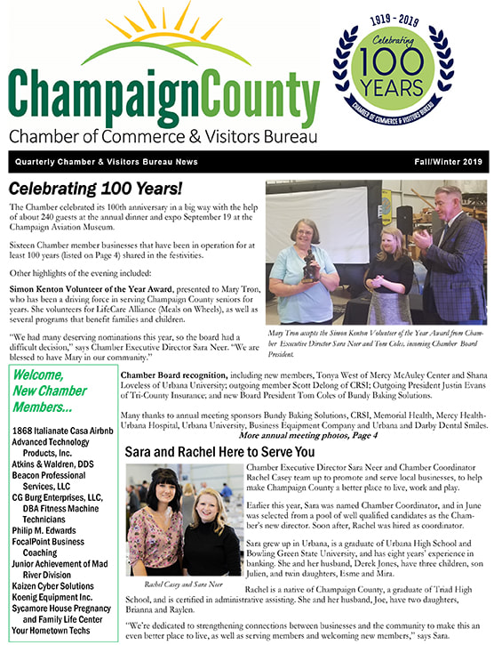 Champaign County Chamber Newsletter