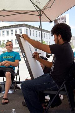 Urbana Art Affair on the Square